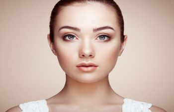 Woman After a Rhinoplasty Atlanta GA