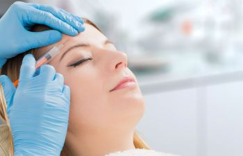 Woman Receiving Botox Injections Atlanta GA
