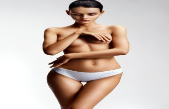 Woman's Body Ready For Plastic Surgery